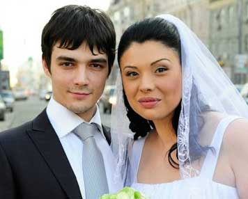 Свадьба Инны Воловичевой и Ивана Новикова