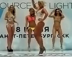 Оксана Ряска опозорилась на конкурсе красоты (11.06.2013г)