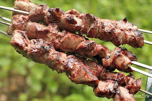 Шашлыки из говядины