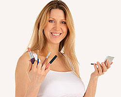 Применение косметики во время беременности