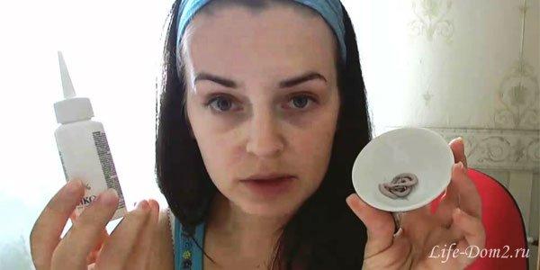 Как окрасить брови и ресницы в домашних условиях?