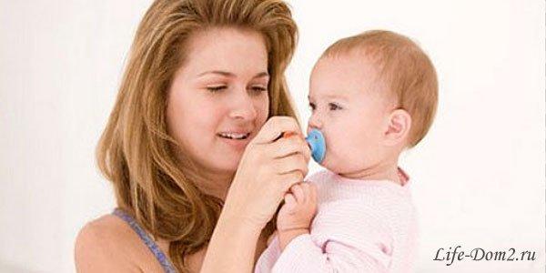 Как отучить ребенка от пустышки?