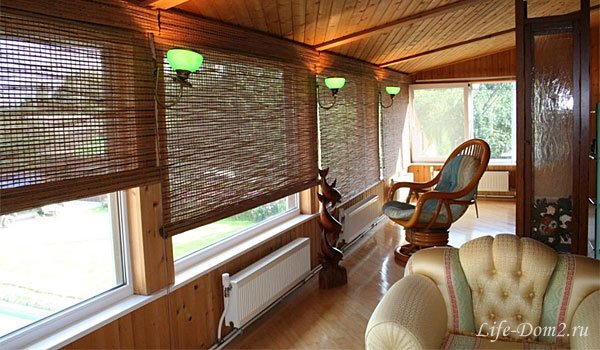 Выбираем бамбуковые шторы