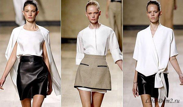 Женская мода сезона осень-зима 2014-2015