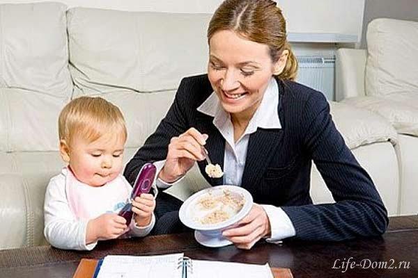 Воспитание ребенка матерью-одиночкой