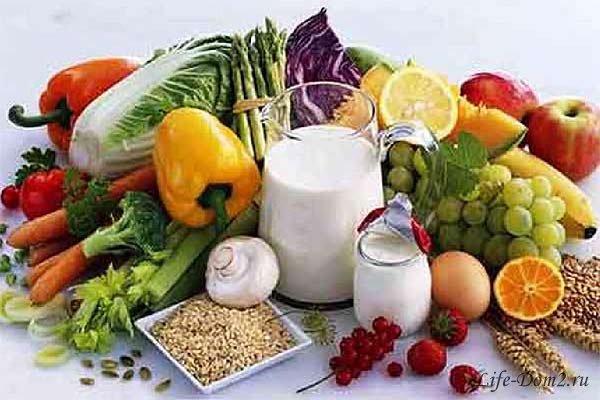 Основные продукты для поддержания формы
