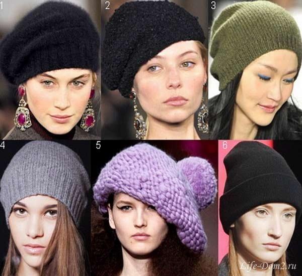Модные шапки и перчатки сезона осень-зима