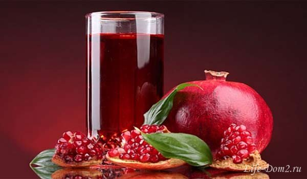 Почему полезно пить гранатовый сок?