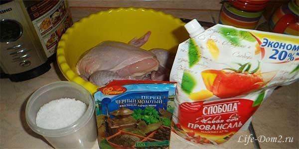 Рецепт быстрого приготовления курицы в духовке