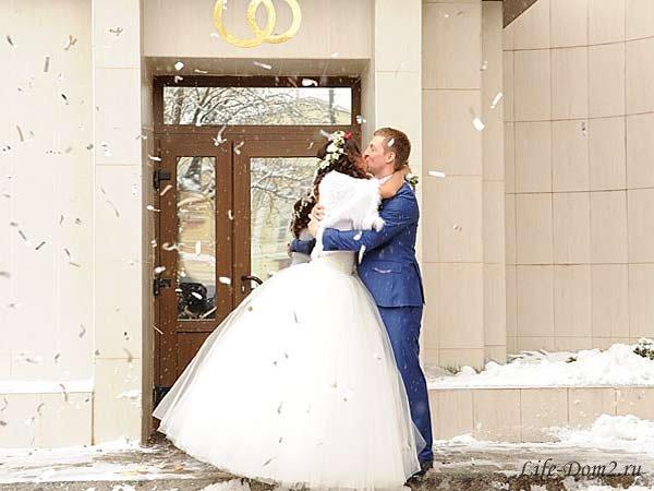 Свадьба Евгения Руднева и Либерж Кпадону