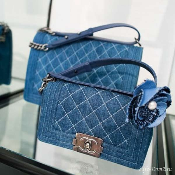 Джинсовые сумки: модные и популярные