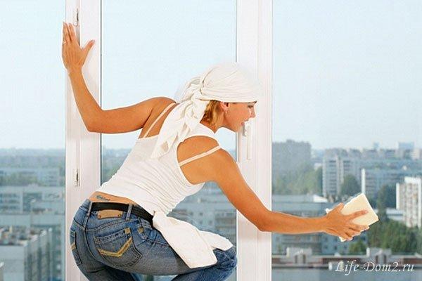 Как мыть окна быстро и без разводов?