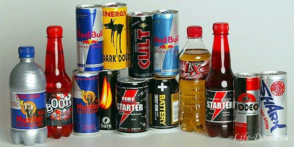 Наиболее вредные напитки для организма человека