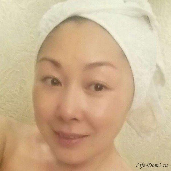Анита Цой опубликовала снимок без макияжа
