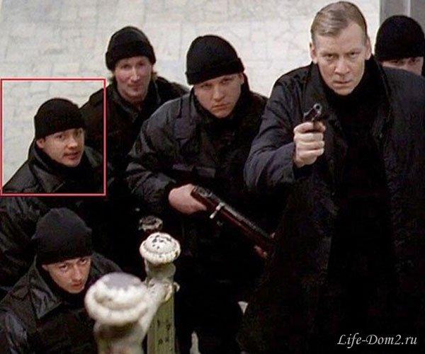 Андрей Черкасов снялся в художественном фильме