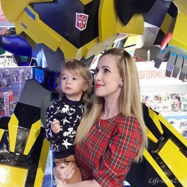 Ольга Гажиенко боится отдавать сына в детский сад