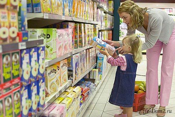 Как вести себя с ребенком в магазине