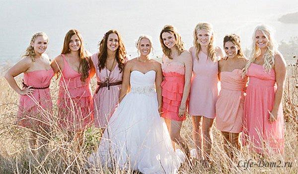 Платье для подружки невесты – что выбрать
