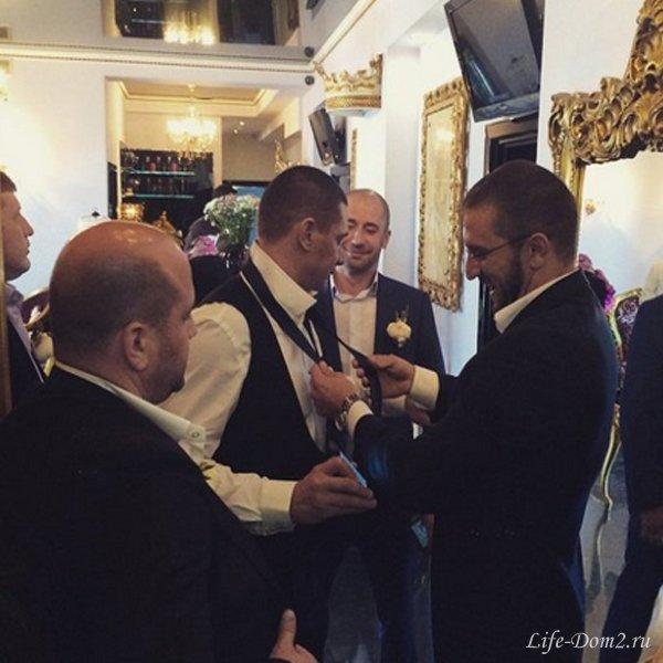 Ксения Бородина и Курбан Омаров сыграли свадьбу. Фото + видео
