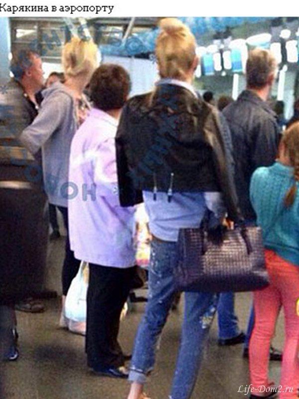 Элина опозорилась в аэропорту. Фото