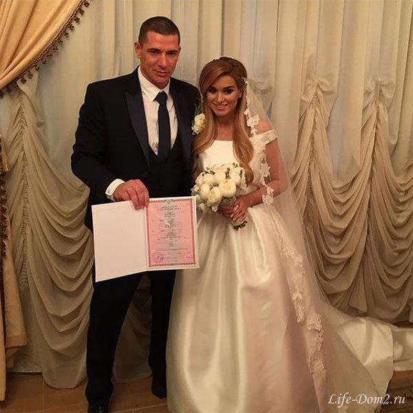 Свадьба Ксении Бородиной и Курбана Омарова