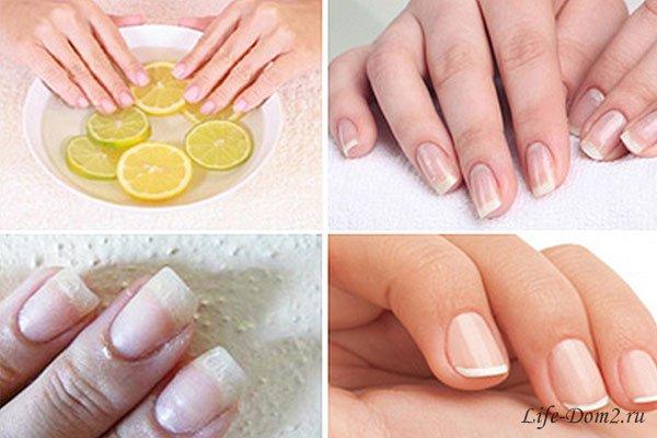 Как сделать что бы не слоились ногти