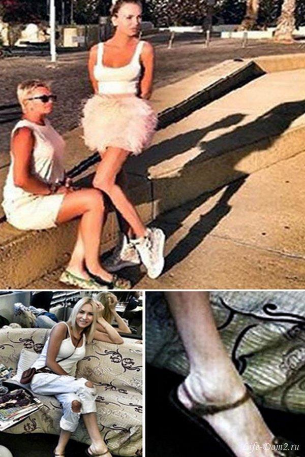 У Элины огромные ноги. Фото