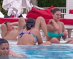 Башаров отдыхает в Турции с экс-супругой и новой любовницей