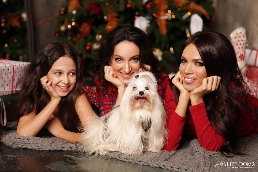 Красивая фотоссесия Инессы Шевчук со своей семьёй