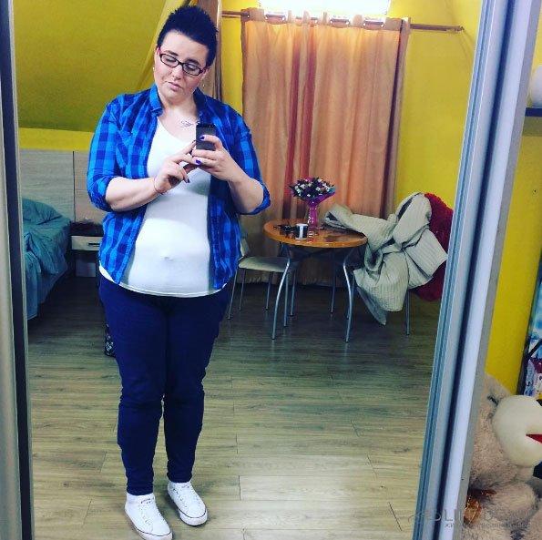К сожалению, Александра Черно никогда не сможет похудеть