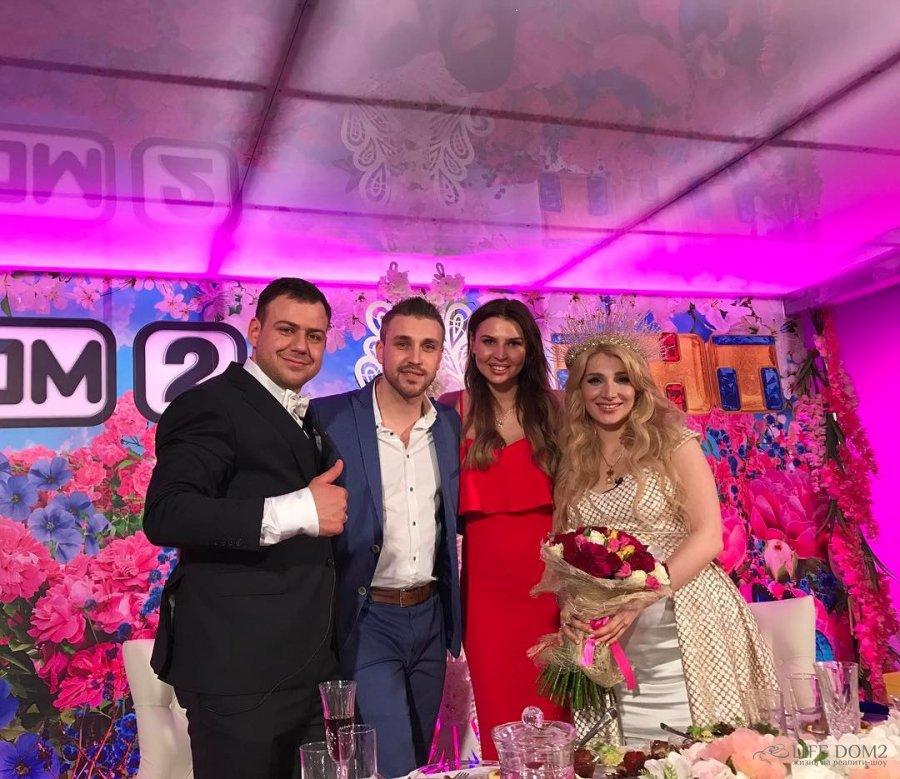 Валерий Блюменкрацн и Тата Абрамсон сыграли свадьбу на проекте