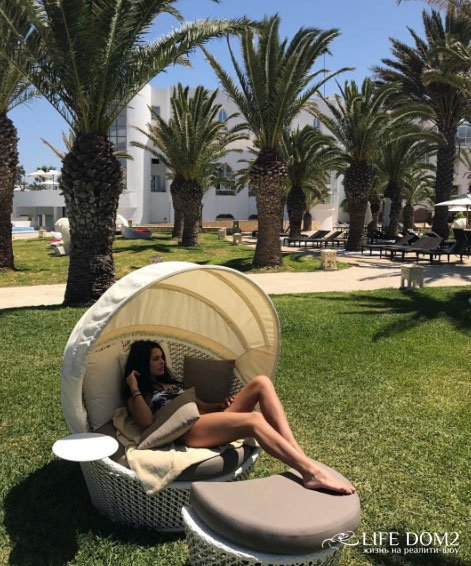 Фотоотчёт очаровательной Ирины Пинчук с отдыха в Тунисе