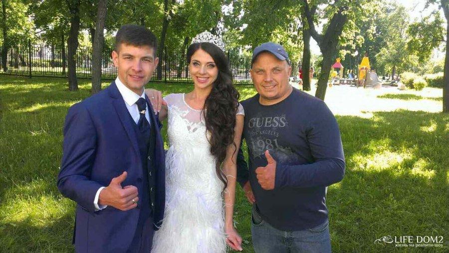 Фото ольги рапунцель со свадьбы