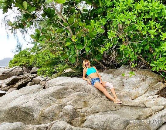 Вера Курочка пострадала на острове