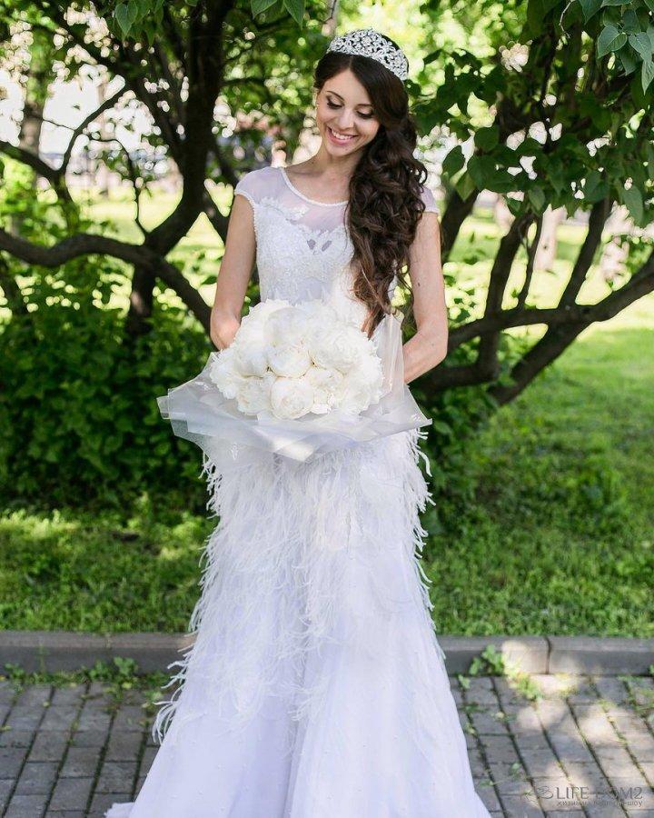Платье рапунцель на свадьбе фото