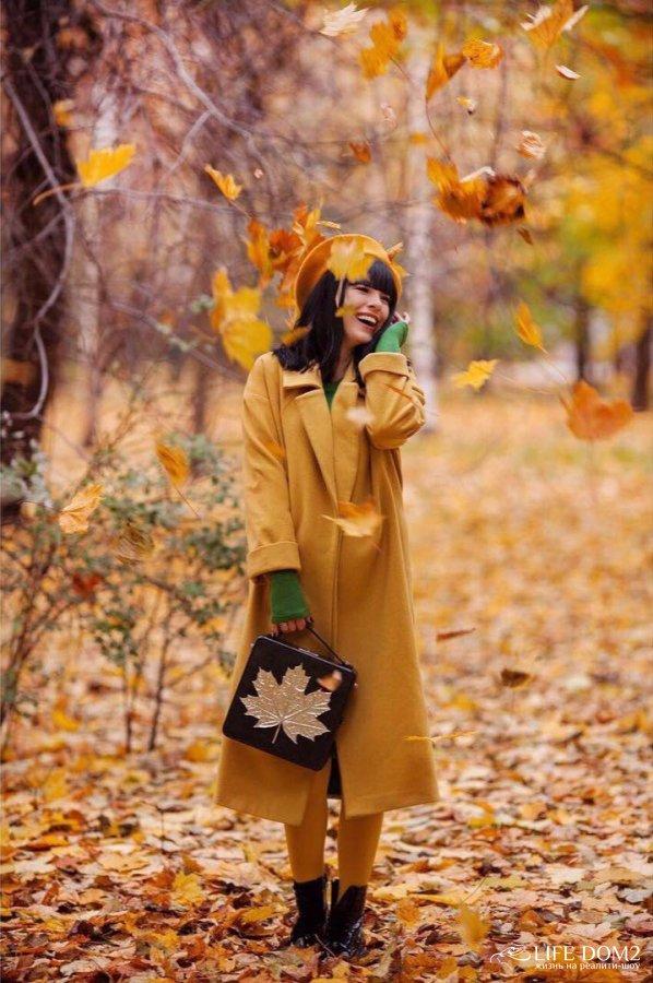 Осенняя фотосессия счастливых Нелли Ермолаевой и Кирилла Андреева