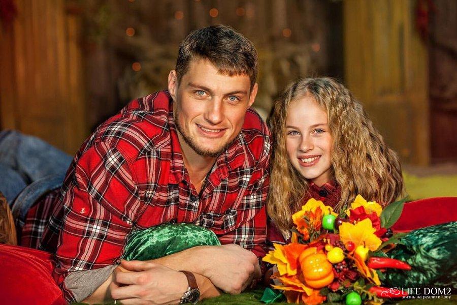 Фотосессия экс-участника «Дом 2» Александра Задойного с дочерью
