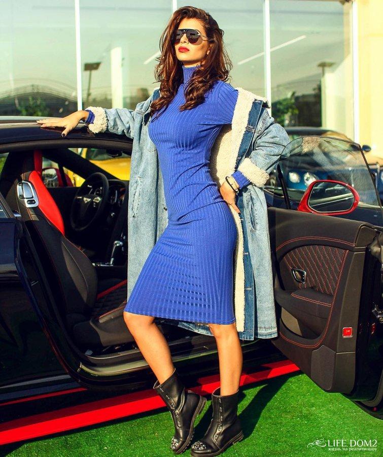 Красивая фотосессия Алианы Устиненко для известного бренда