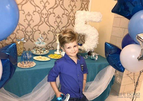 Фотоотчёт с празднования Дня Рождения сына Евгении Феофилактовой и Антона Гусева Дэни