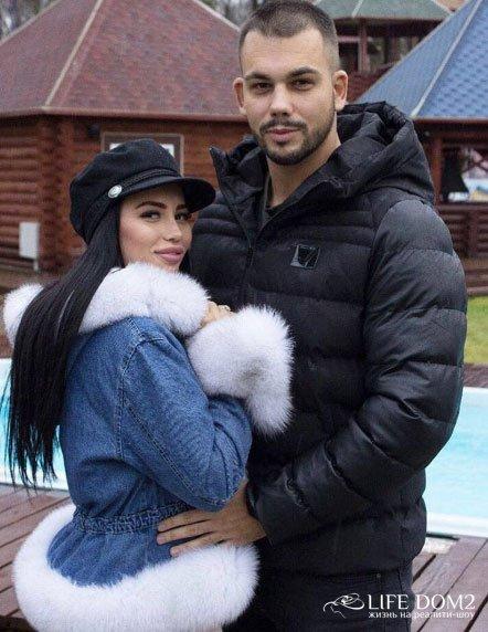 Сергей Захарьяш и Лиля Четрару доказали серьёзность своих отношений