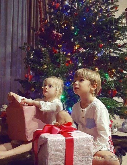 Сын Ольги Гажиенко верит в Деда Мороза