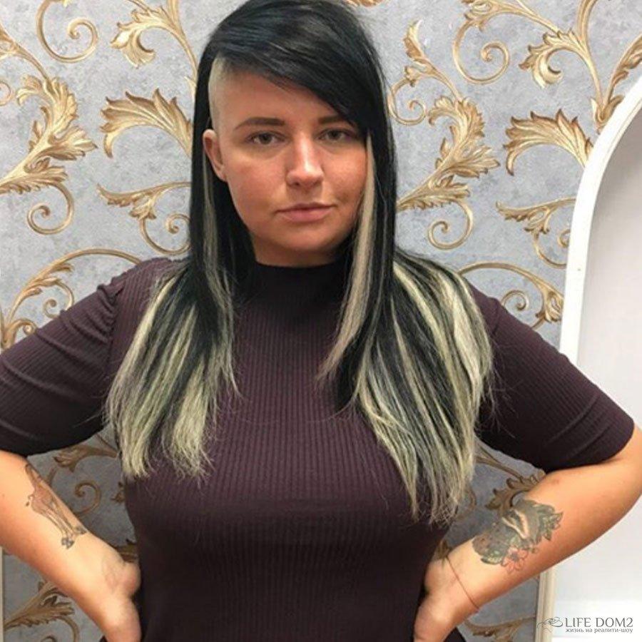 Александра Черно кардинальным образом сменила имидж, нарастив волосы