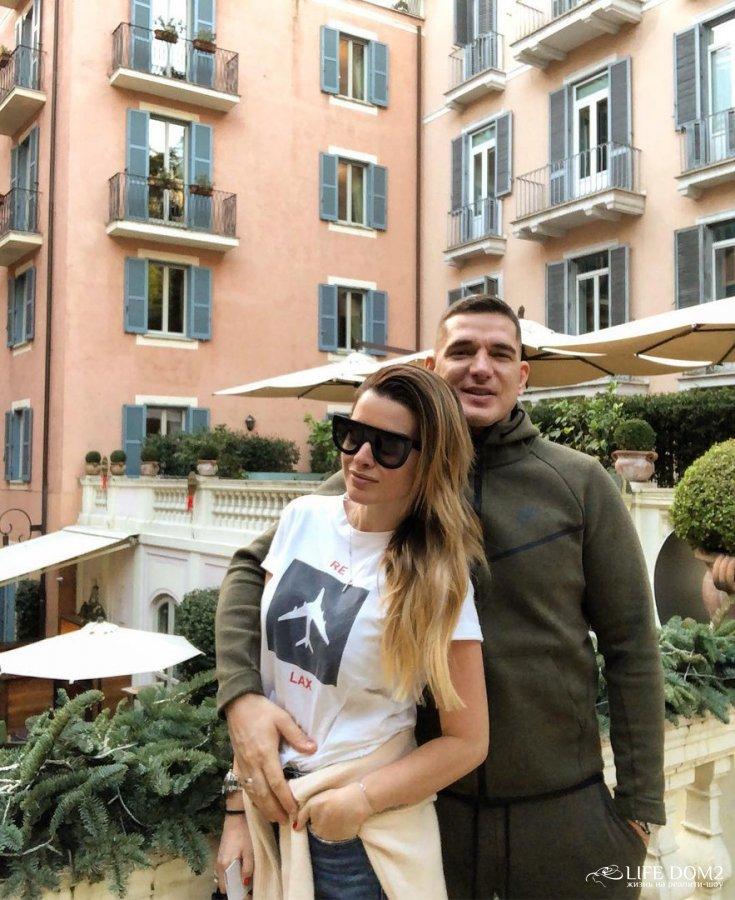 Римские каникулы Дарьи Пынзарь и Ксении Бородиной с мужьями