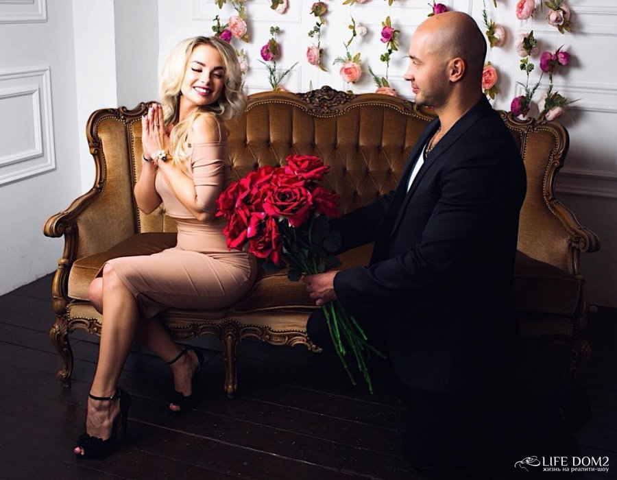 Фотосессия Андрея Черкасова и Кристины Ослиной