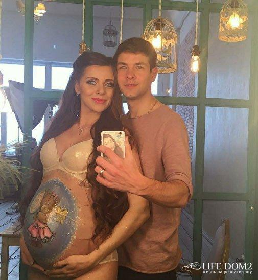 Ольгу Рапунцель все больше тяготит беременность