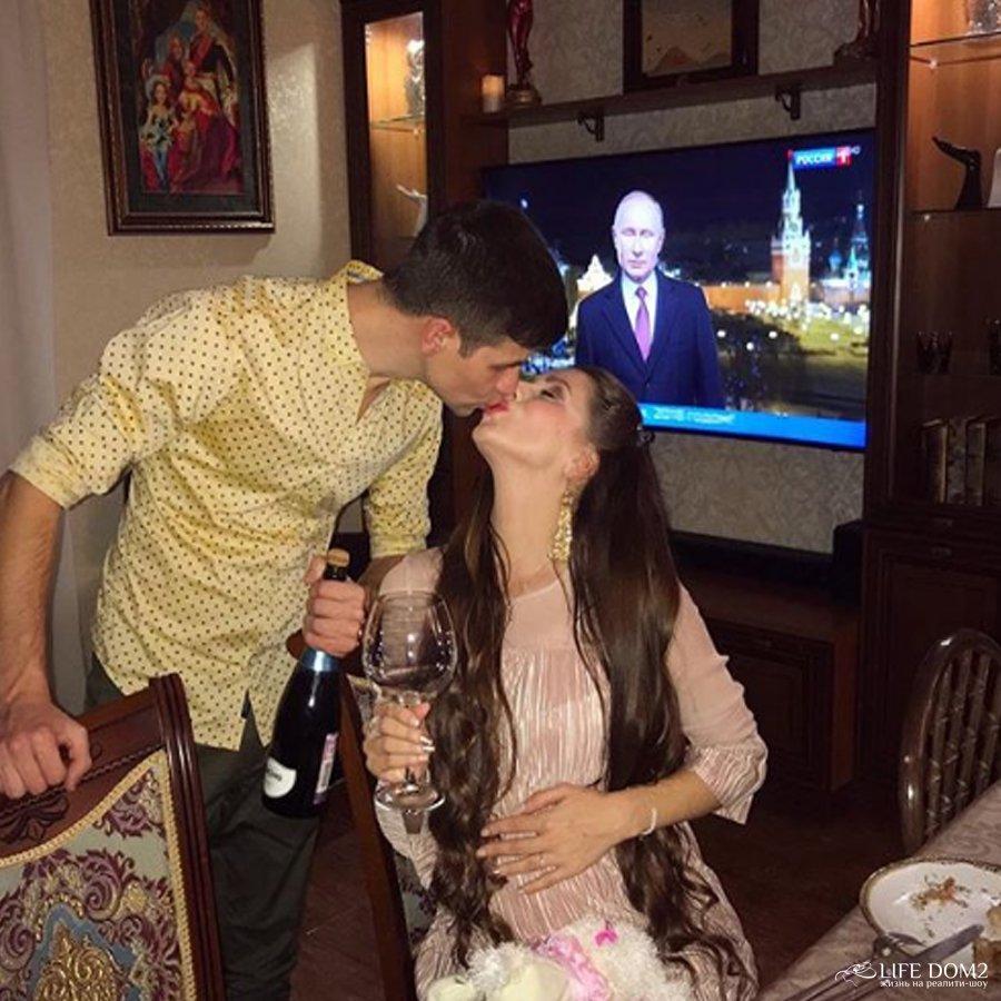 В сети появилась очередная порция слухов относительно беременности Ольги Рапунцель
