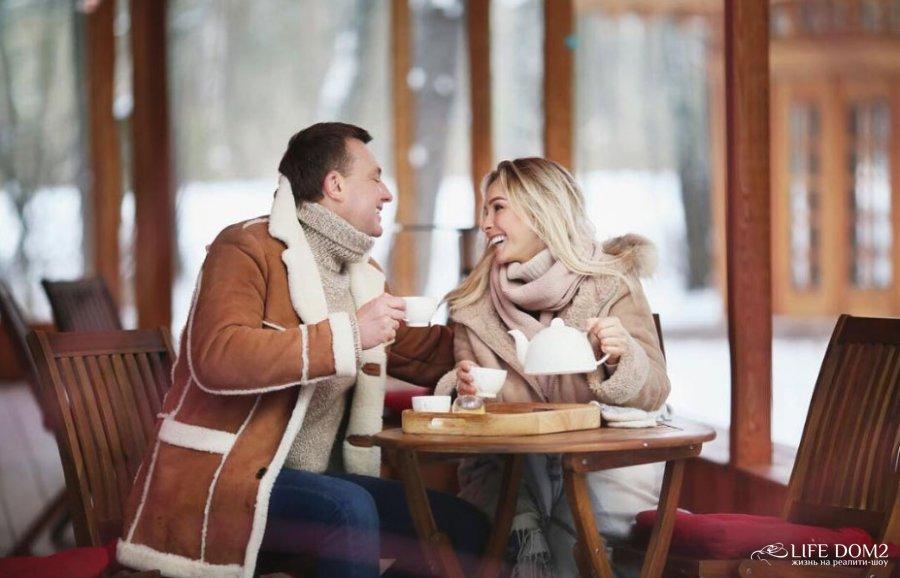 Зимняя фотосессия Натальи Варвиной и Алексея Михайловского