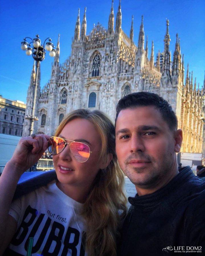 Фотоподборка с путешестаия в столицу моды - Милан Дарьи и Сергея Пынзарь