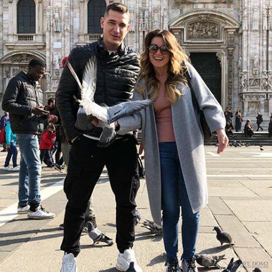 Ксения Бородина отпраздновала свой день рождения в Милане