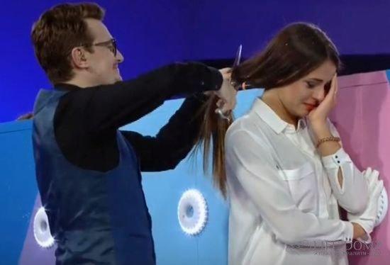 Ольга Жарикова лишилась части волос, чтобы продолжить участие в конкурсе